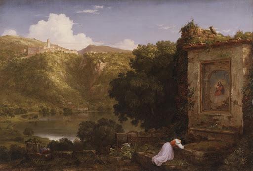 Il Penseroso, 1845 - Thomas Cole