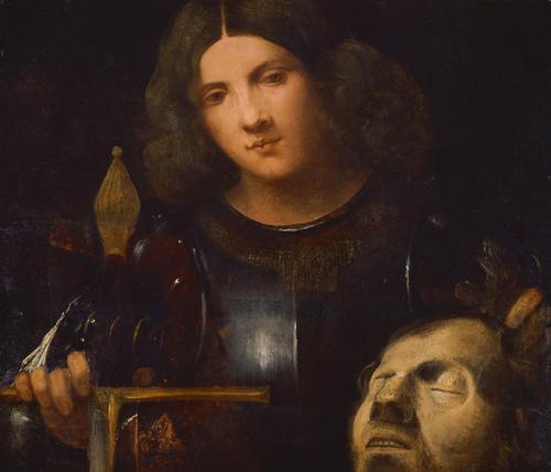 David with the Head of Goliath, 1510 - Giorgione