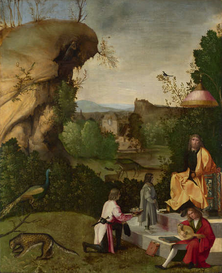 Homage to a poet - Giorgione