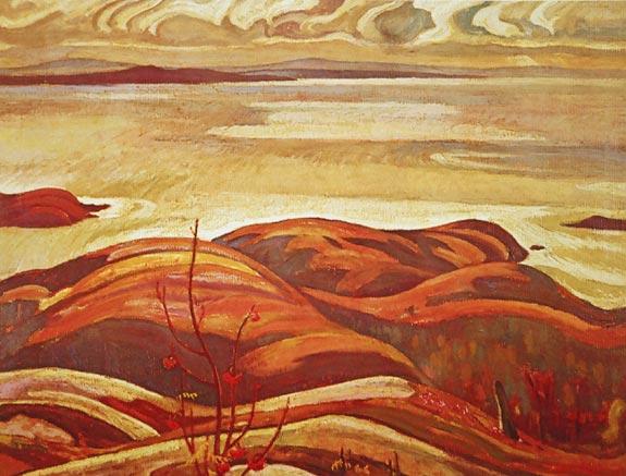 North Shore, Lake Superior, 1926 - A. Y. Jackson
