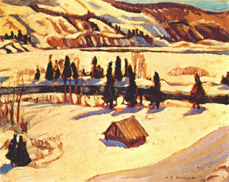 River St. Urbain, 1930 - A.Y. Jackson