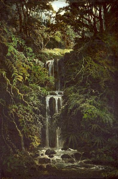 Air Terjun - Abdullah Suriosubroto