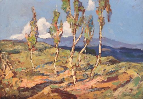 Birch Trees - Adam Baltatu