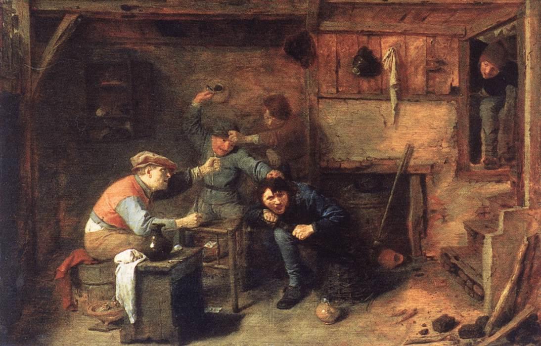 Peasants Fighting, 1633