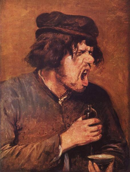 The Bitter Drunk - Adriaen Brouwer