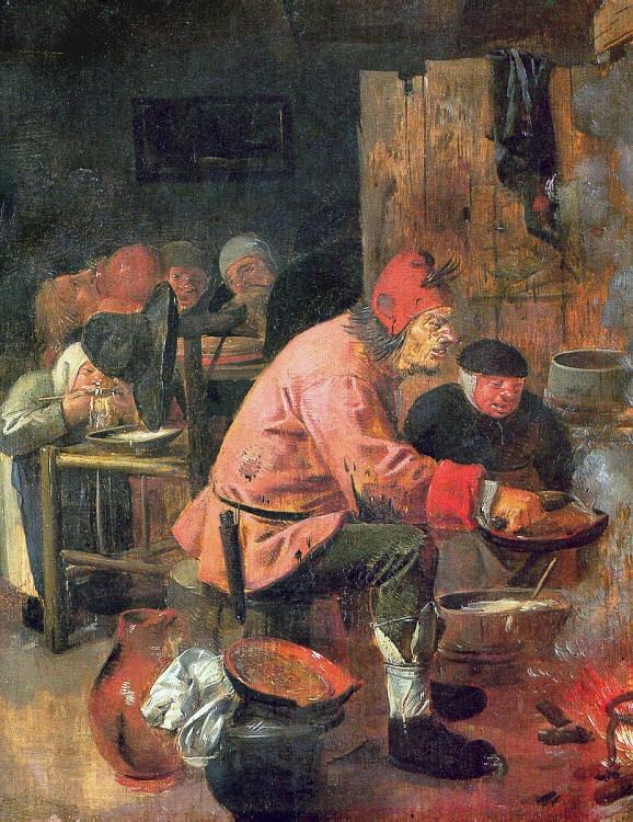 The Pancake Baker, 1625