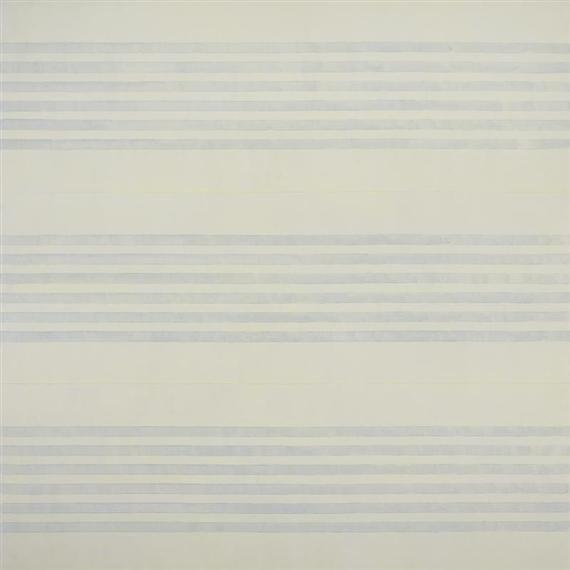 I Love Life, 2001 - Agnes Martin