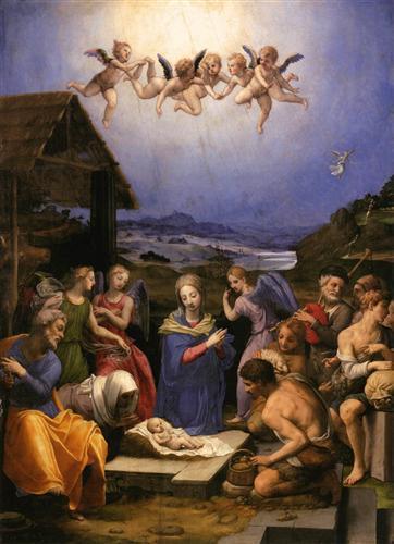 Adoration of the Shepherds  - Agnolo Bronzino