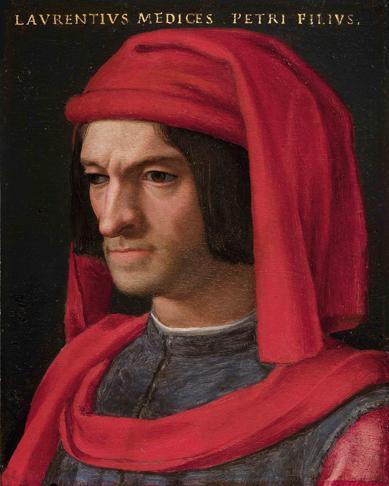 Portrait of Lorenzo the Magnificent - Agnolo Bronzino