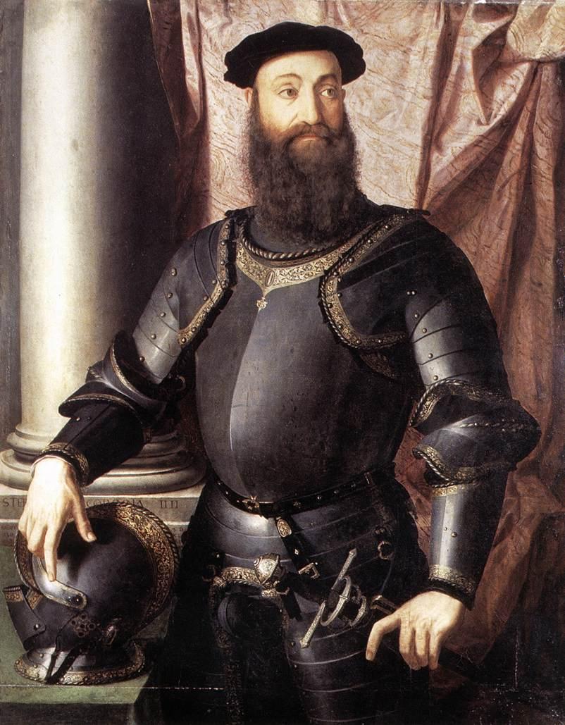 Portrait of Stefano IV Colonna, 1546