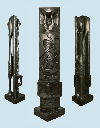 The Column of Memory, 1975 - Августин Карденас