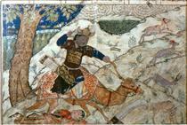 Bahram Gur tramples Azadeh - Ahmad Musa