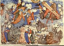 Faridun sees Iraj's coffin - Ahmad Musa