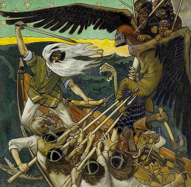 The Defense of the Sampo, 1896 - Akseli Gallen-Kallela