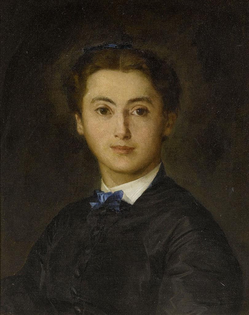 Bildnis Therese von Wyttenbach-von Fischer, 1869