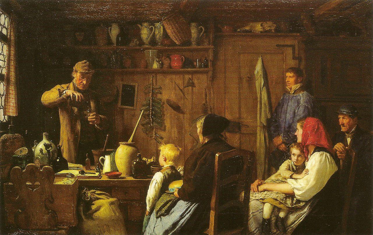 Der Quacksalber, 1879