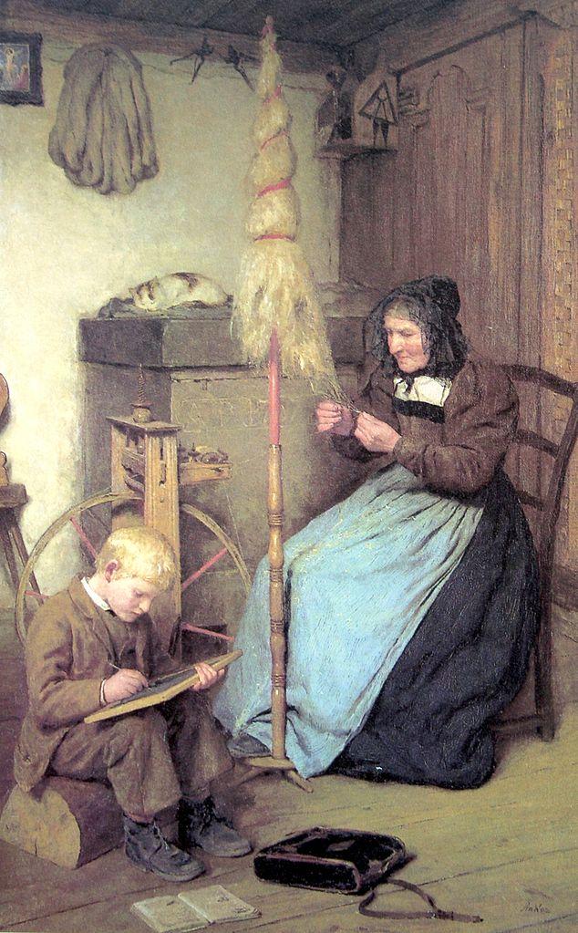 Die Arbeitsamen, 1883
