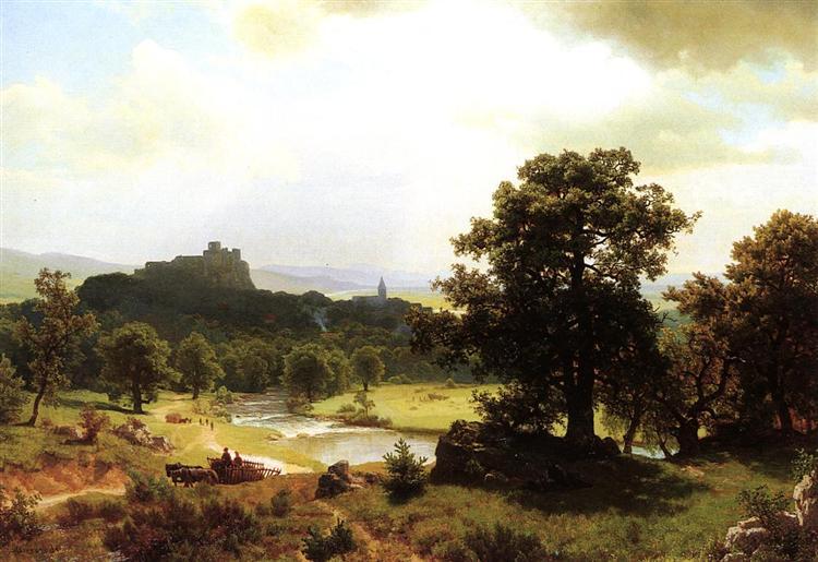 Day's Beginning, c.1854 - c.1856 - Albert Bierstadt