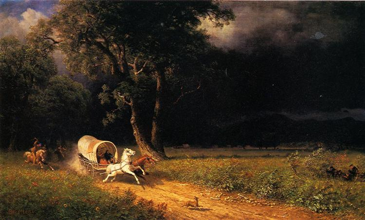 The Ambush, 1876 - Albert Bierstadt