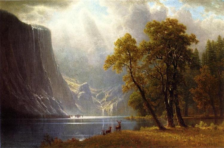 Yosemite Valley - Albert Bierstadt