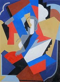 Femme Cubiste - Альбер Глез