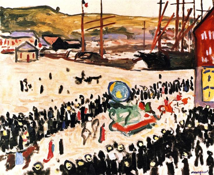 Carnival on the Beach, 1906 - Albert Marquet