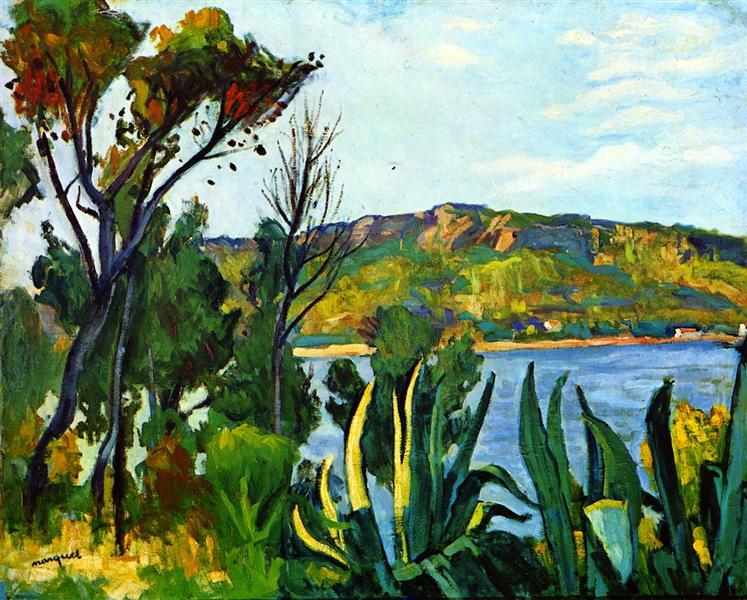 View of Agay, 1905 - Albert Marquet