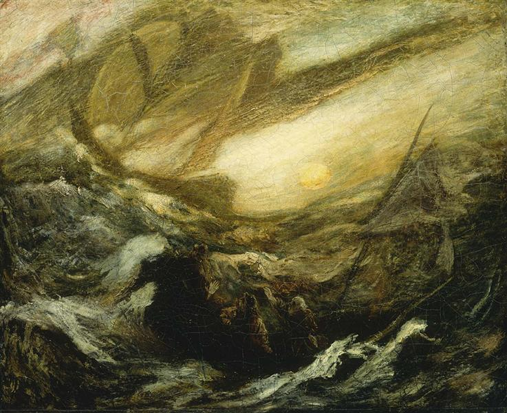 Flying Dutchman - Albert Pinkham Ryder