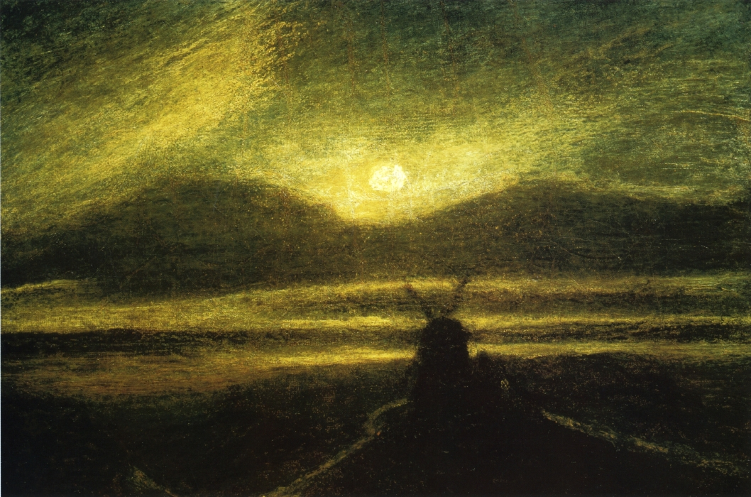 The Old Mill by Moonlight, 1885