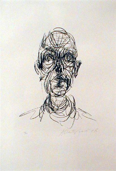 Head - Alberto Giacometti