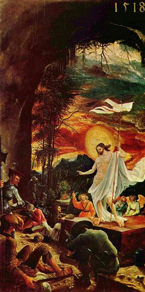 Resurrection of Christ, 1518 - Albrecht Altdorfer
