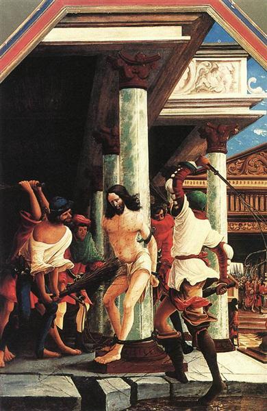 The Flagellation of Christ, 1518 - Albrecht Altdorfer