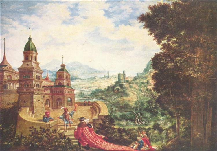 Theprideof thebeggarsittingon thetrain, 1531 - Albrecht Altdorfer