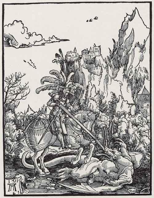 TheSt.George killing thedragonart, 1511