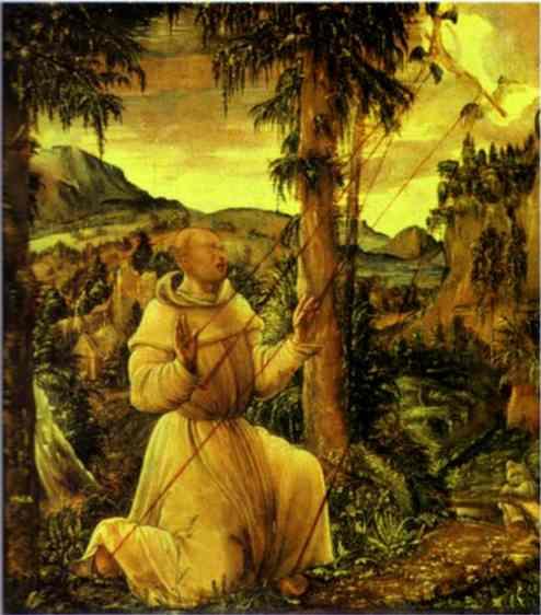 TheStigmatizationofSt.Francis, 1507 - Albrecht Altdorfer