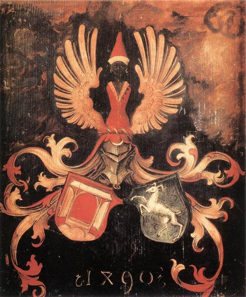 Alliance Coat of Arms, 1490 - Albrecht Durer