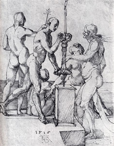 Male And Female Nudes, 1516 - Albrecht Durer