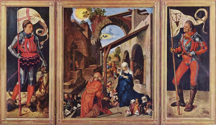 Paumgartner Altar, c.1503 - Albrecht Durer