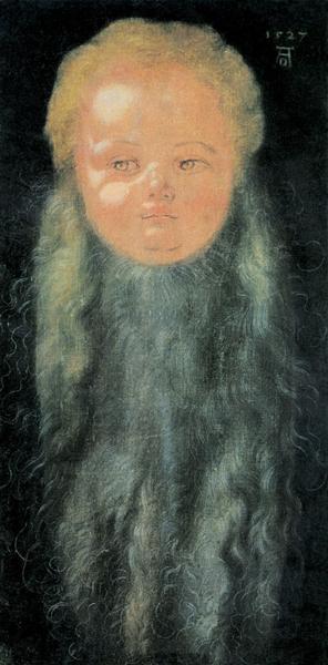 Portrait of a Boy with a Long Beard, c.1527 - Albrecht Durer