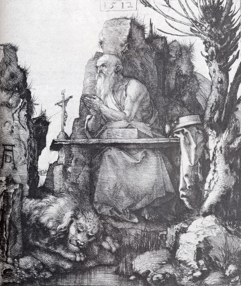 Durer Albrecht sex Renaissance Nuremberg saints jerome pollard willow drypoint copperplate