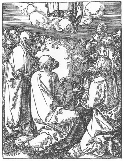 The Ascension, 1511 - Albrecht Durer