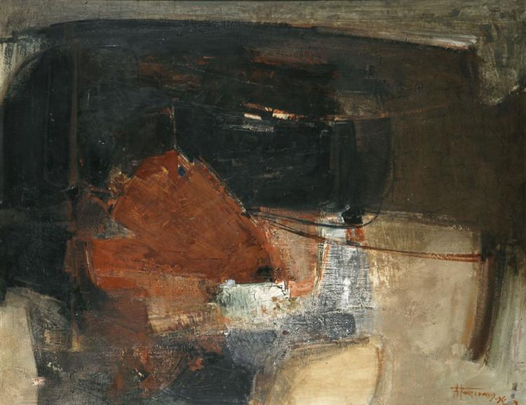 Composition-Image, 1962 - Alekos Kontopoulos