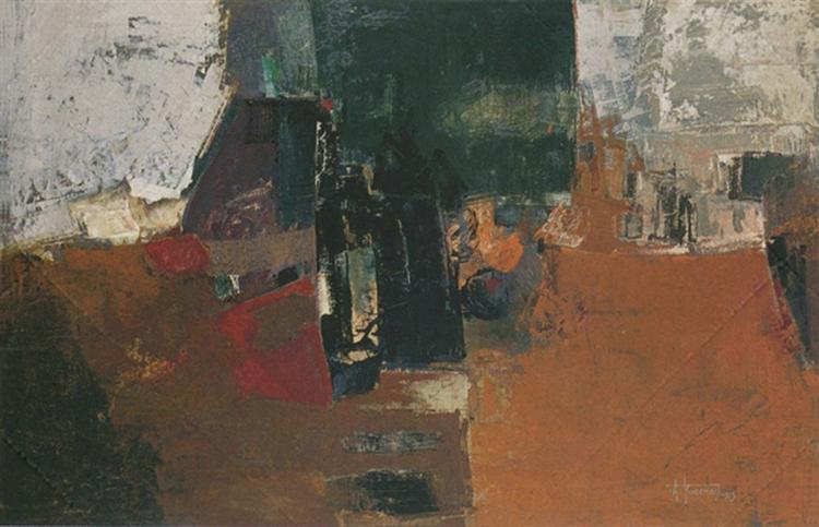 Interior, 1963 - Alekos Kontopoulos