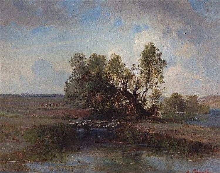 After the storm, c.1870 - Aleksey Savrasov