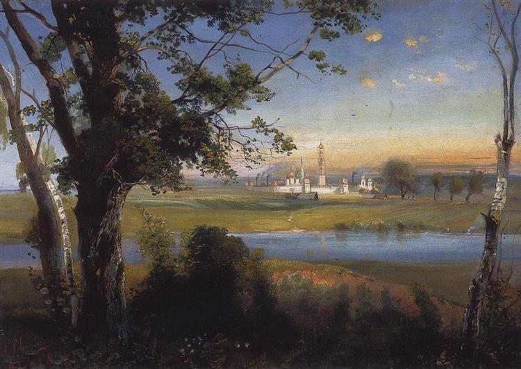 Novodevichy Convent, 1890 - Aleksey Savrasov