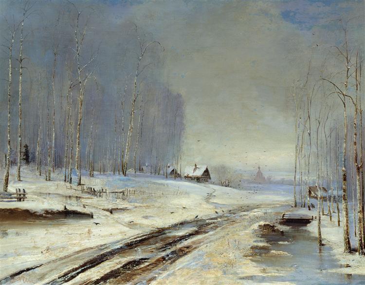 Sea of Mud., 1894 - Aleksey Savrasov