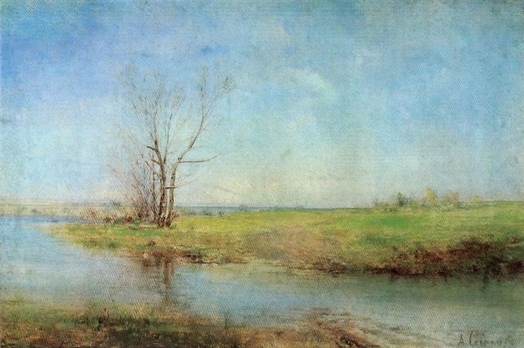 Spring, c.1875 - Alexei Kondratjewitsch Sawrassow