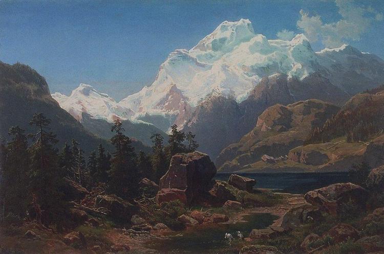 Swiss form, 1862 - Aleksey Savrasov