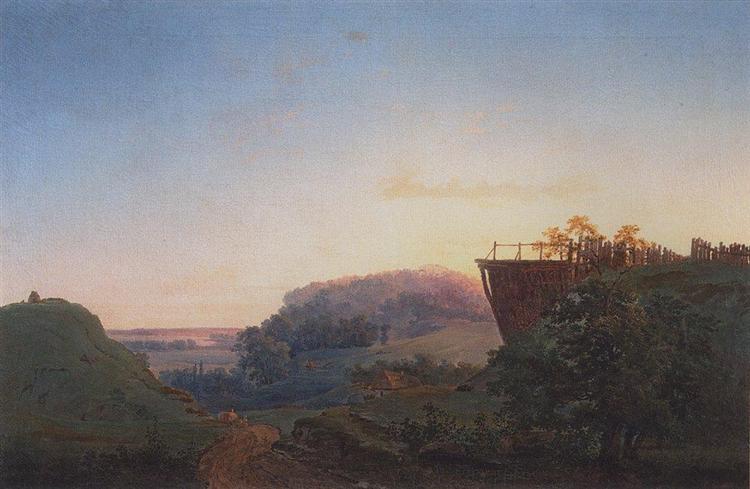 Ukrainian landscape, 1849 - Aleksey Savrasov