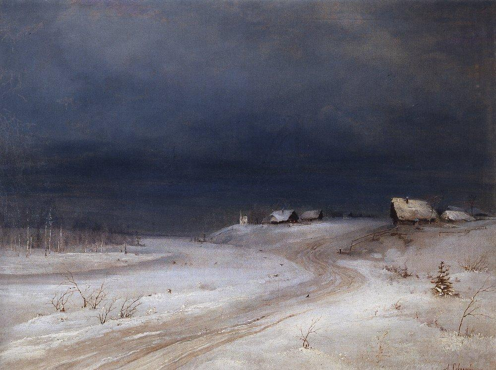 winter landscape 1880